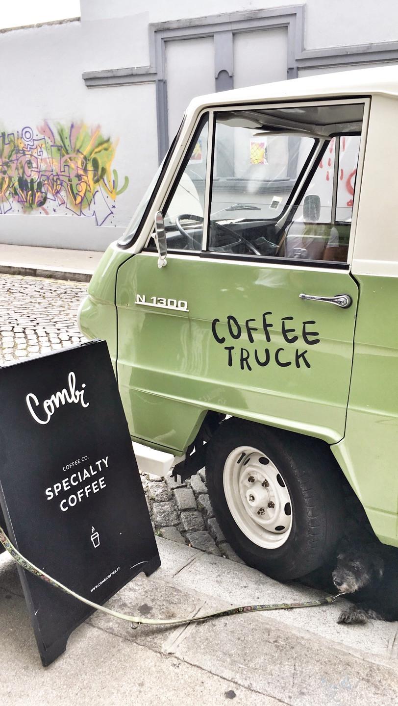 Truck of Combi Coffee in Porto