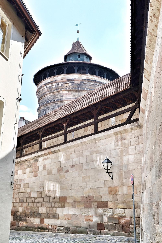 City wall, Nürnberg