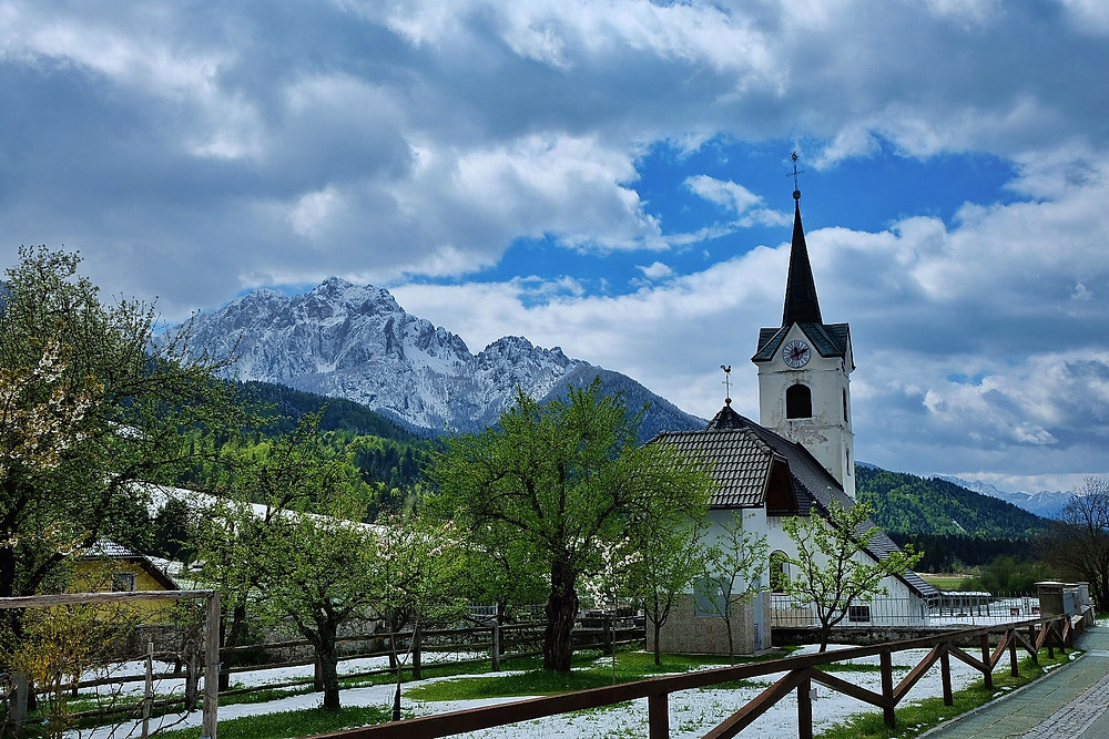 Church of Podkoren, Slovenia