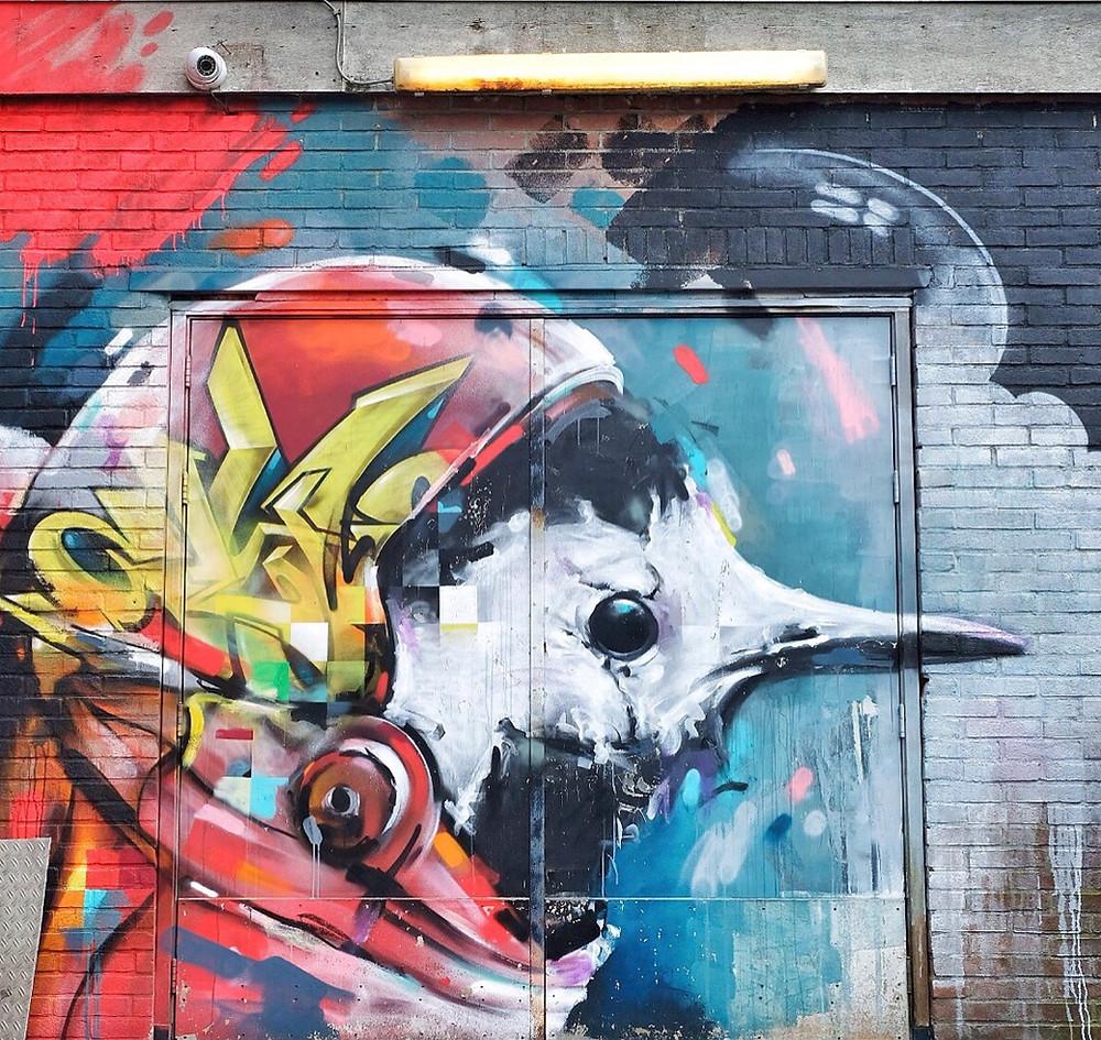 Street Art by Klaas Lageweg, Leeuwarden