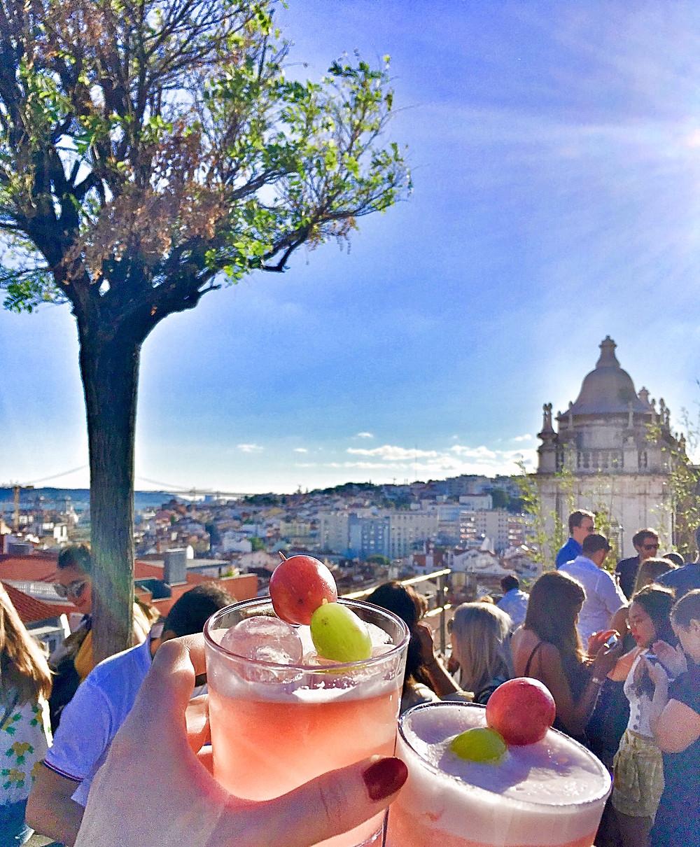 Park Rooftop Bar in Lisbon