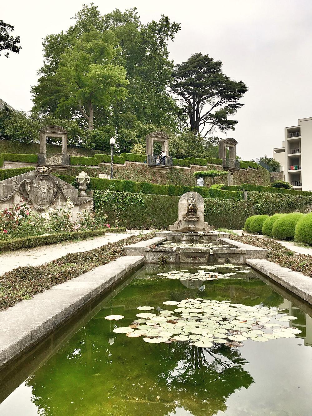 Jardins do Palácio de Cristal in Porto