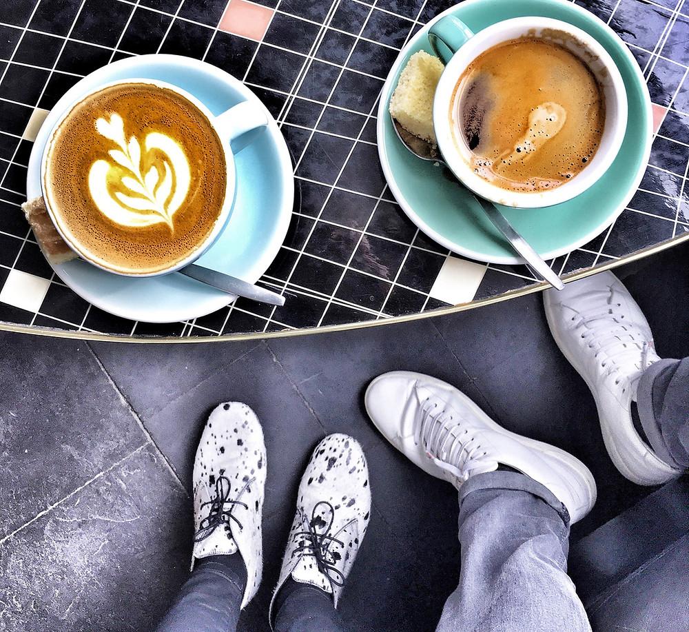 Coffee at Vero Caffè in Bruges