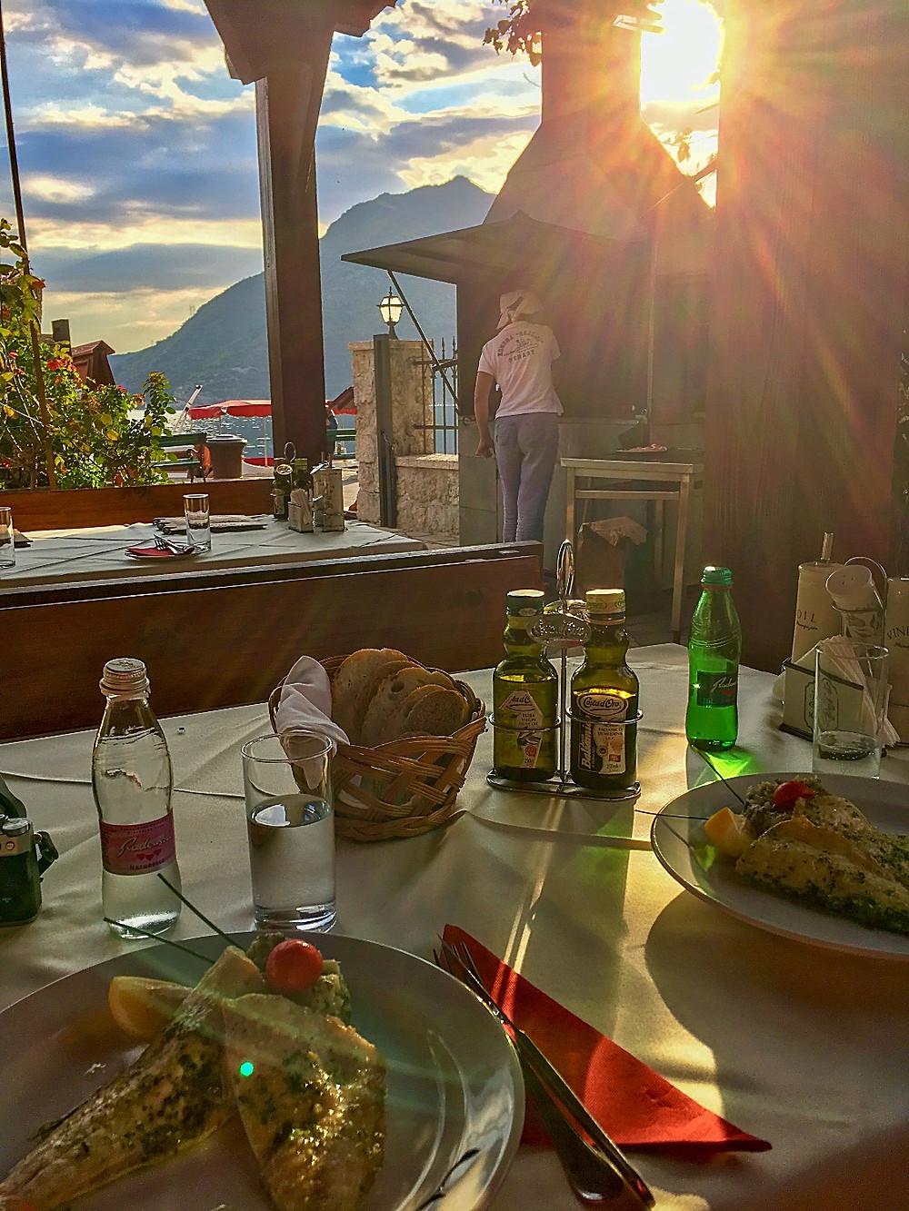 Restaurant Konoba Skolji in Perast Montenegro