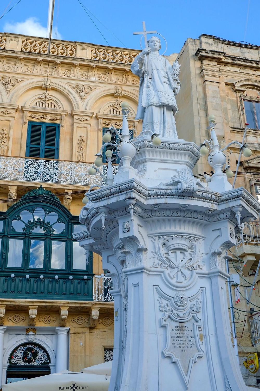 Victory Square in Vittoriosa Malta