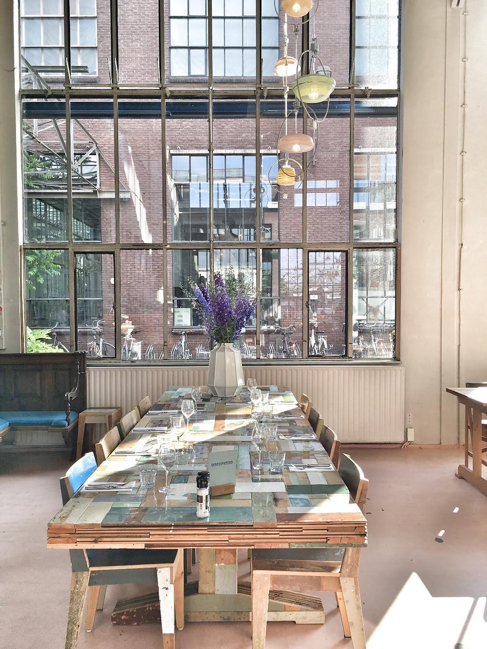 Restaurant Piet Hein Eek in Eindhoven