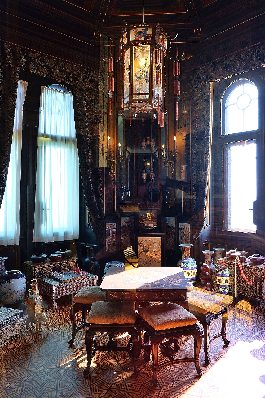 Interior of Miramare Castle Trieste