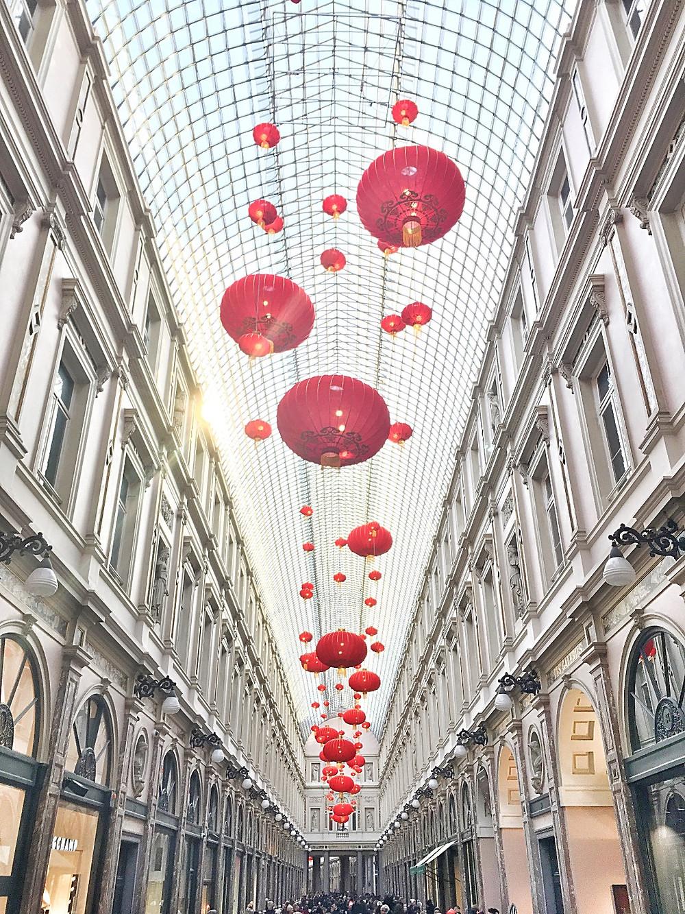 Les Galeries Royales Saint-Hubert in Brussels