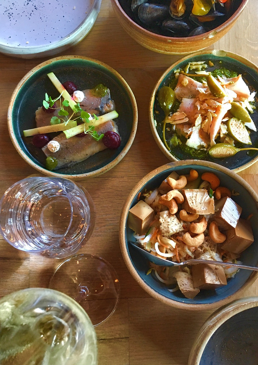 Dinner at Restaurant Gå Nord in Antwerp