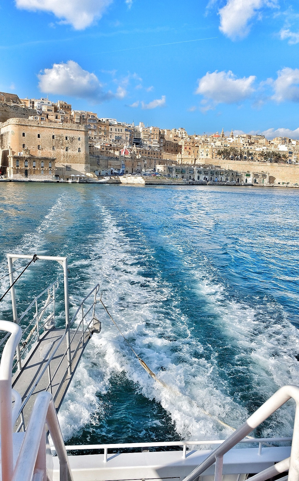 Ferry from Valletta to Vittoriosa