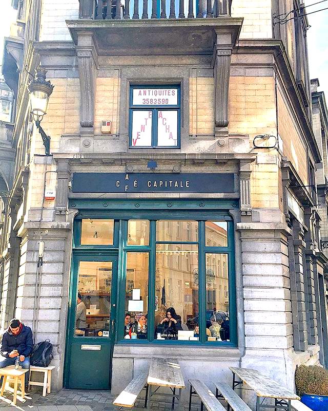 Café Capitale in Brussels