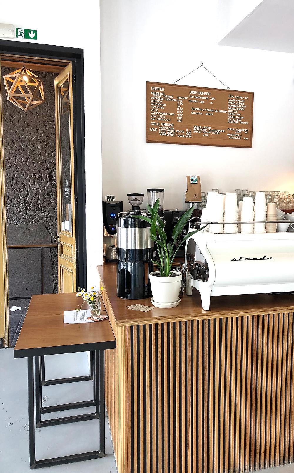 Kolonel Coffee Roastery & Bar, Antwerp