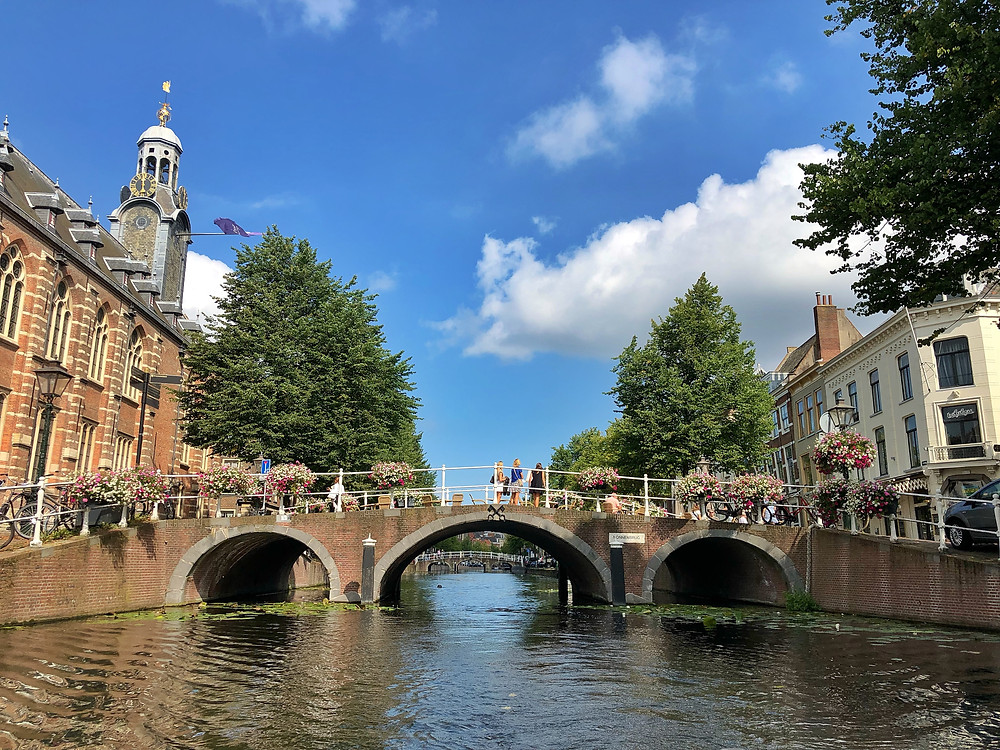 Boat tour over the canals of Leiden