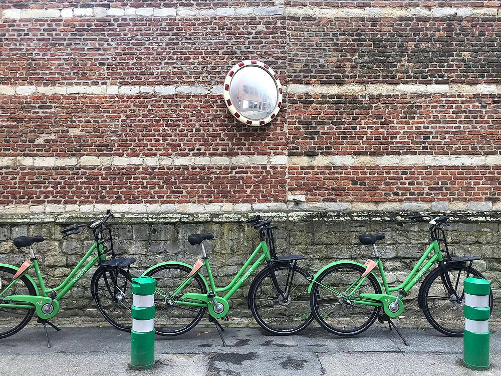 Mobit bikes in Mechelen