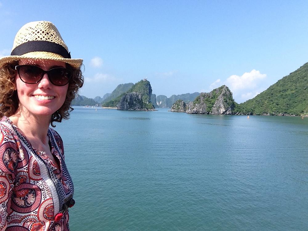 Lonnies Planet at Halong Bay Vietnam