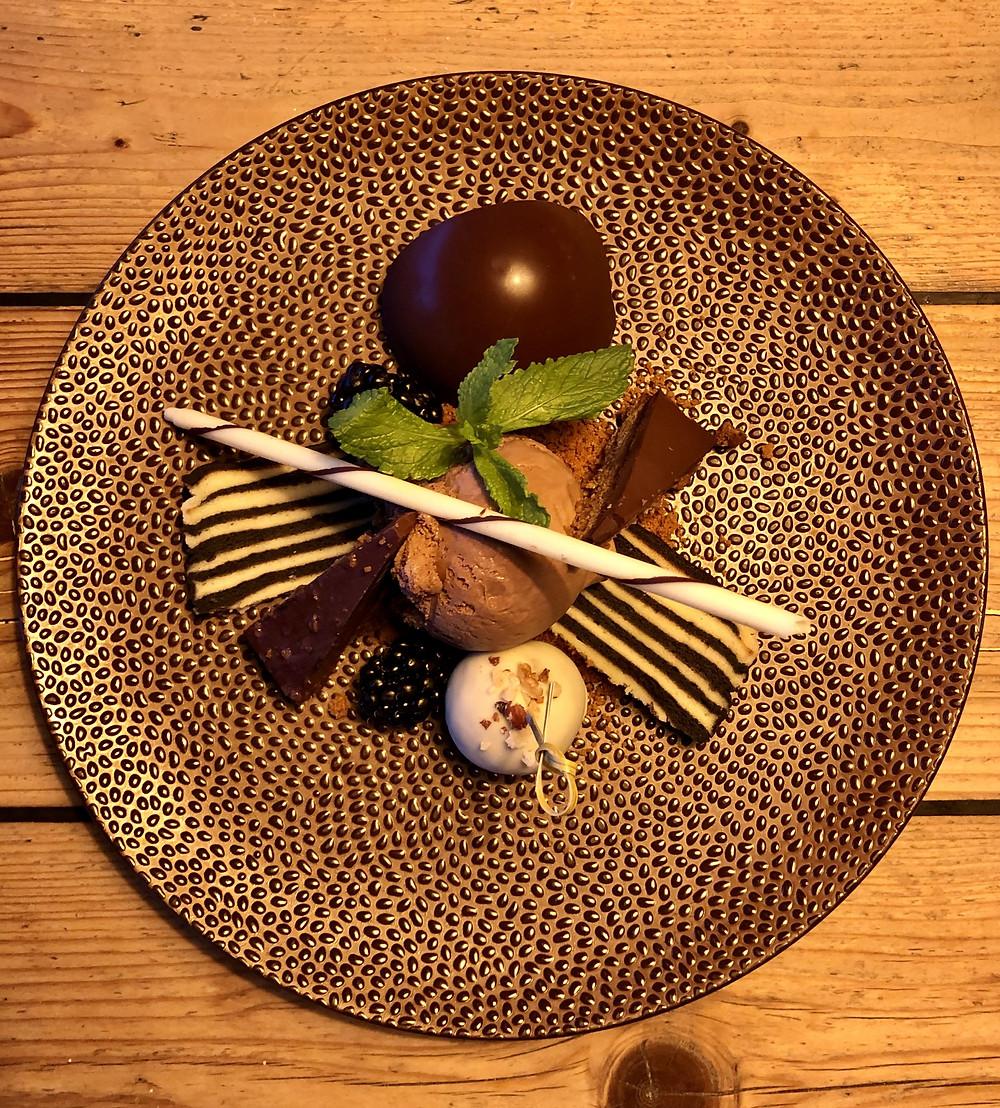 Dessert at Beach Bar 'West aan Zee' Terschelling