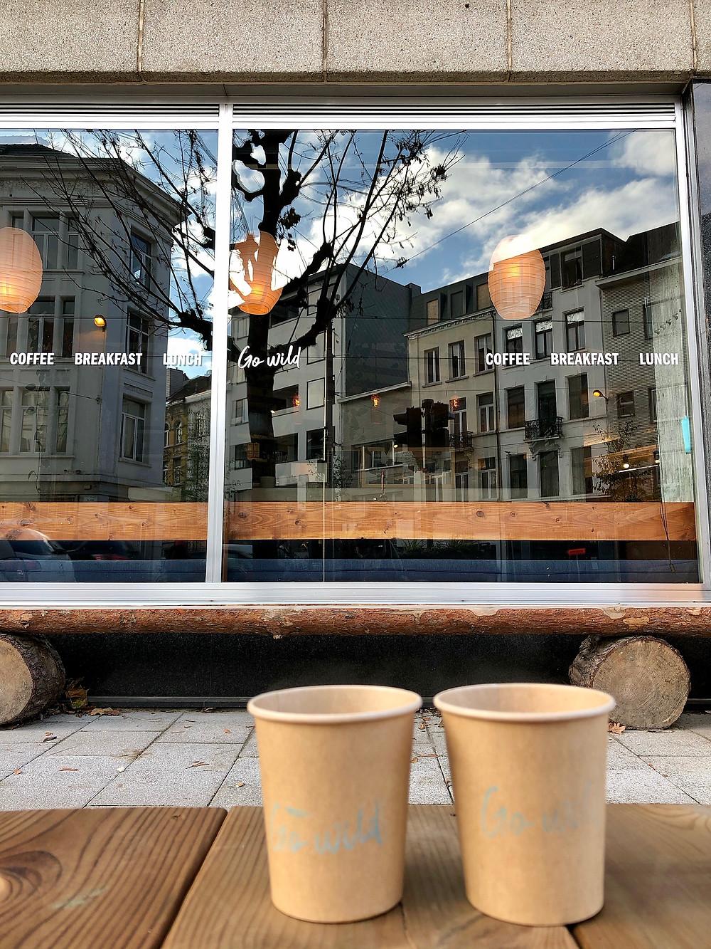 Go Wild, take away coffee, Antwerp