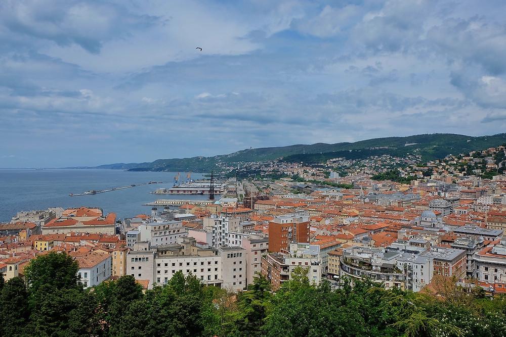 View from San Giusto Castle Trieste