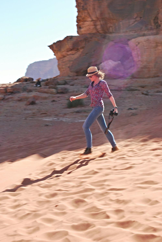 Lonnies Planet in Wadi Rum Desert Jordan