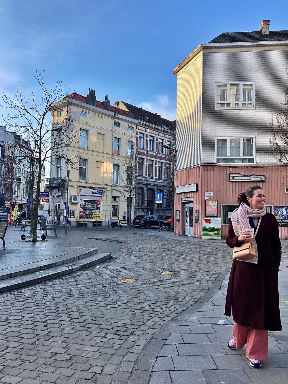 Lonnies Planet coffee walk Antwerp