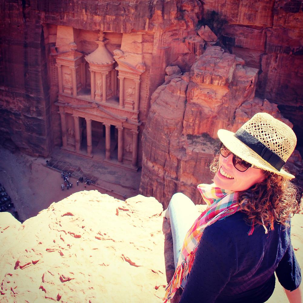 Lonnies Planet in Petra Jordan
