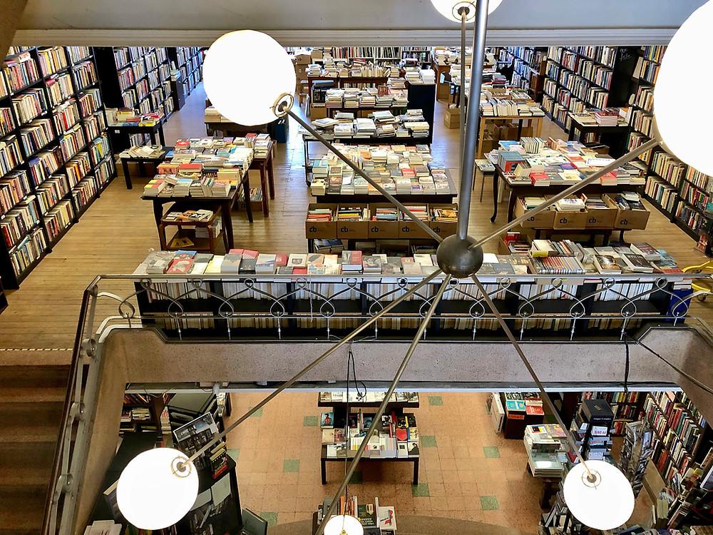 Boekhandel De Zondvloed in Mechelen België