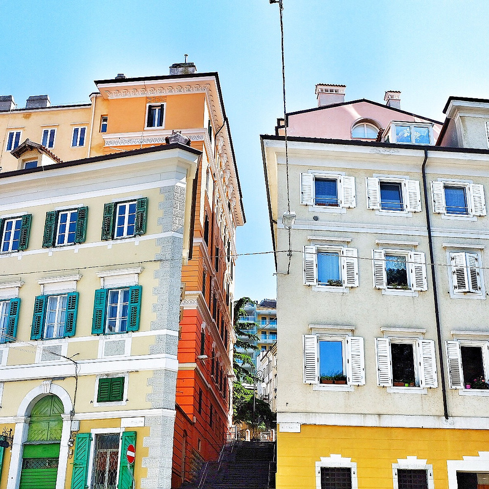 Streets of Trieste Italy