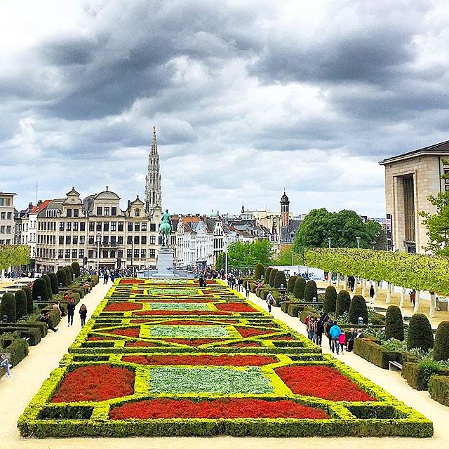 Mont des Arts in Brussels