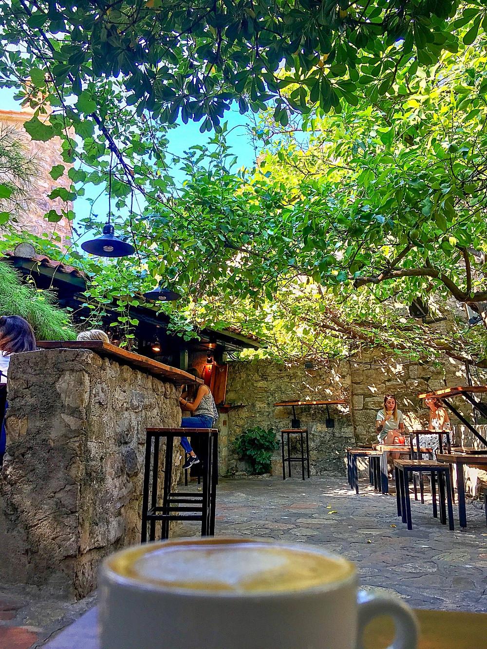 Coffee at Casper Bar in Budva