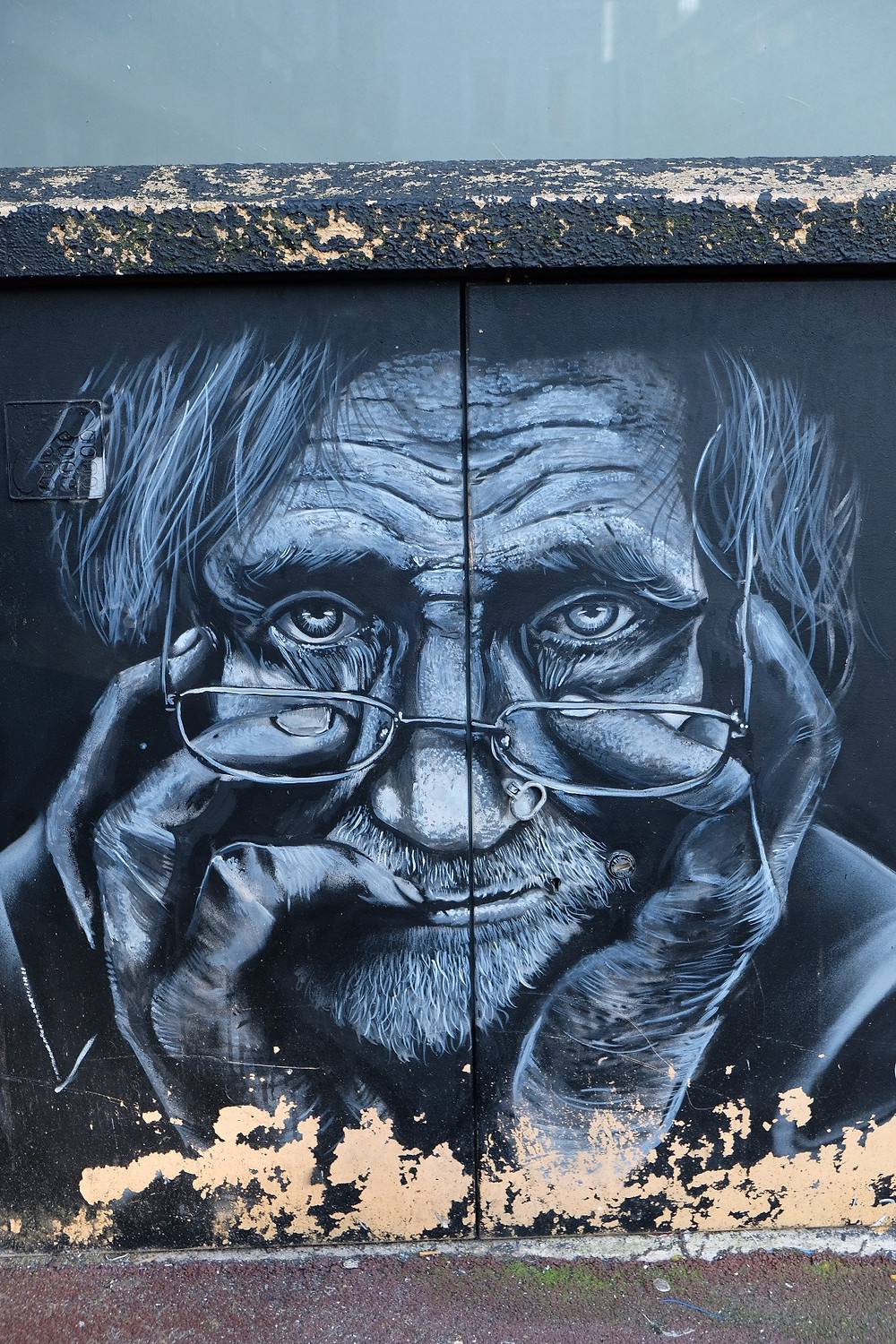 Street Art by Gaawouel in Boulogne-sur-Mer, France