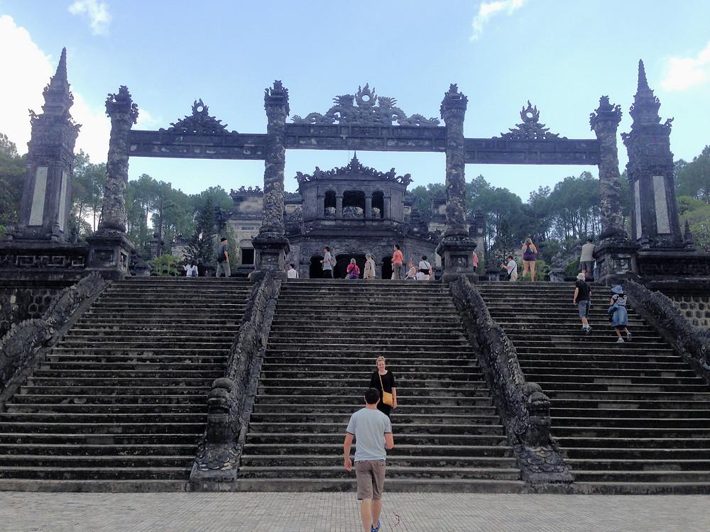 Tombes in Hue, Vietnam