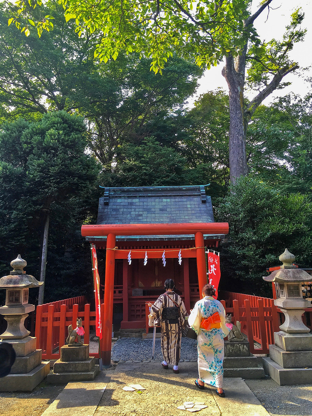 Tsurugaoka Hachimangu in Kamakura Japan