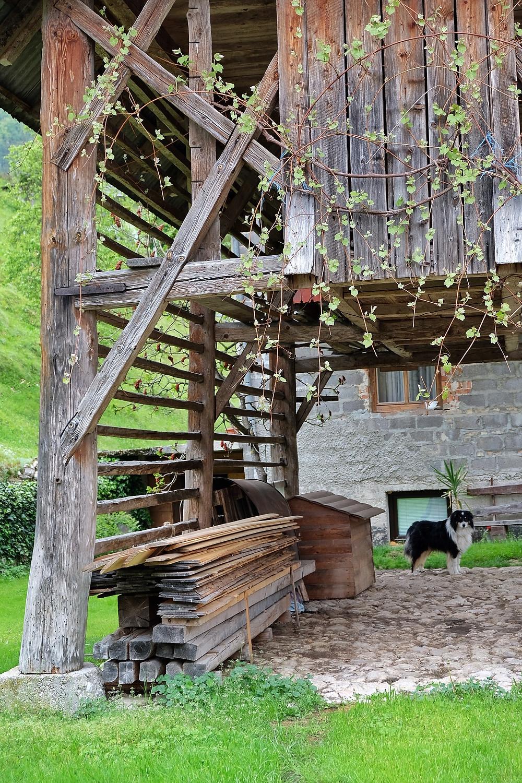 Barn in Stara Fuzina, Slovenia