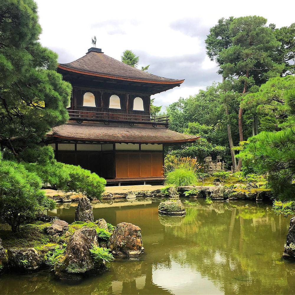 Ginkaku-ji Temple in Kyoto Japan