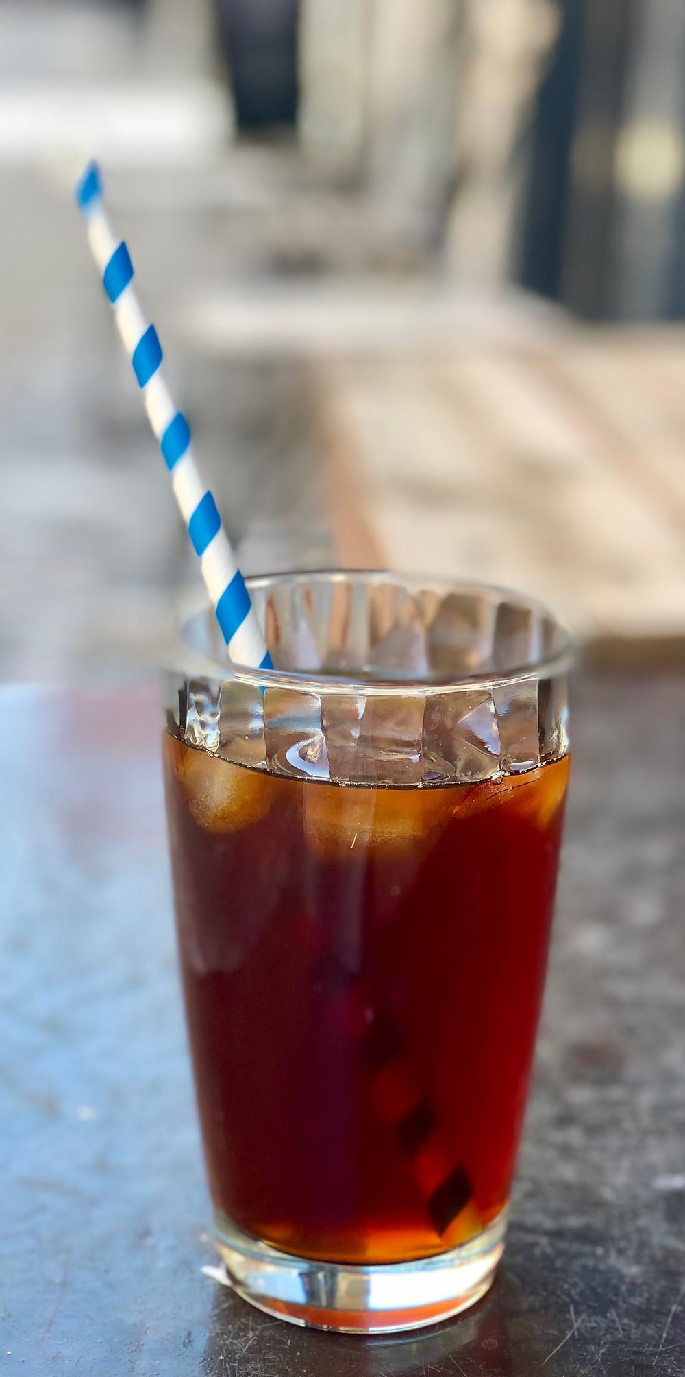 Iced Coffee at Kaffee-Ine Mechelen