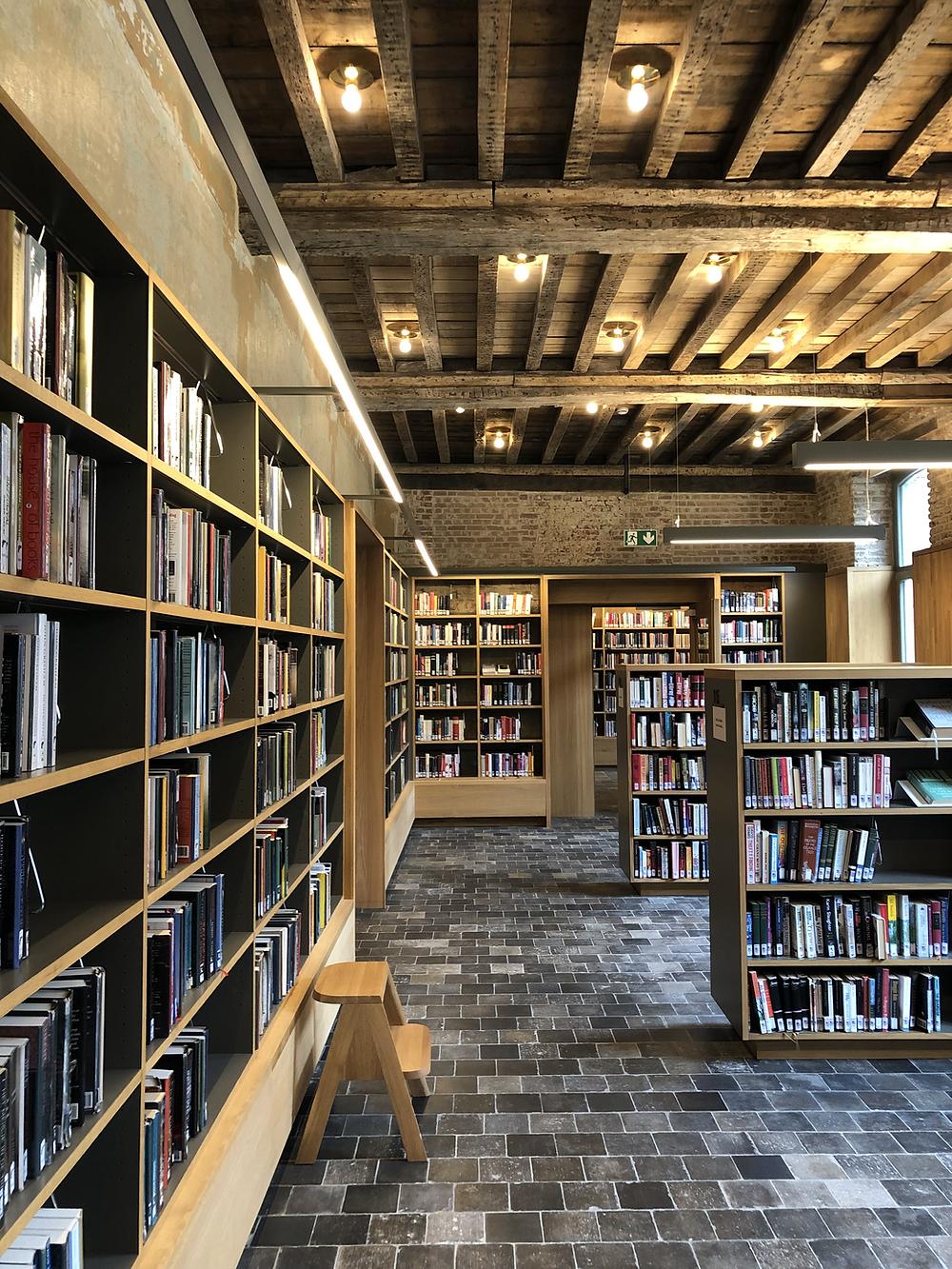 Library at Het Predikheren in Mechelen Belgium