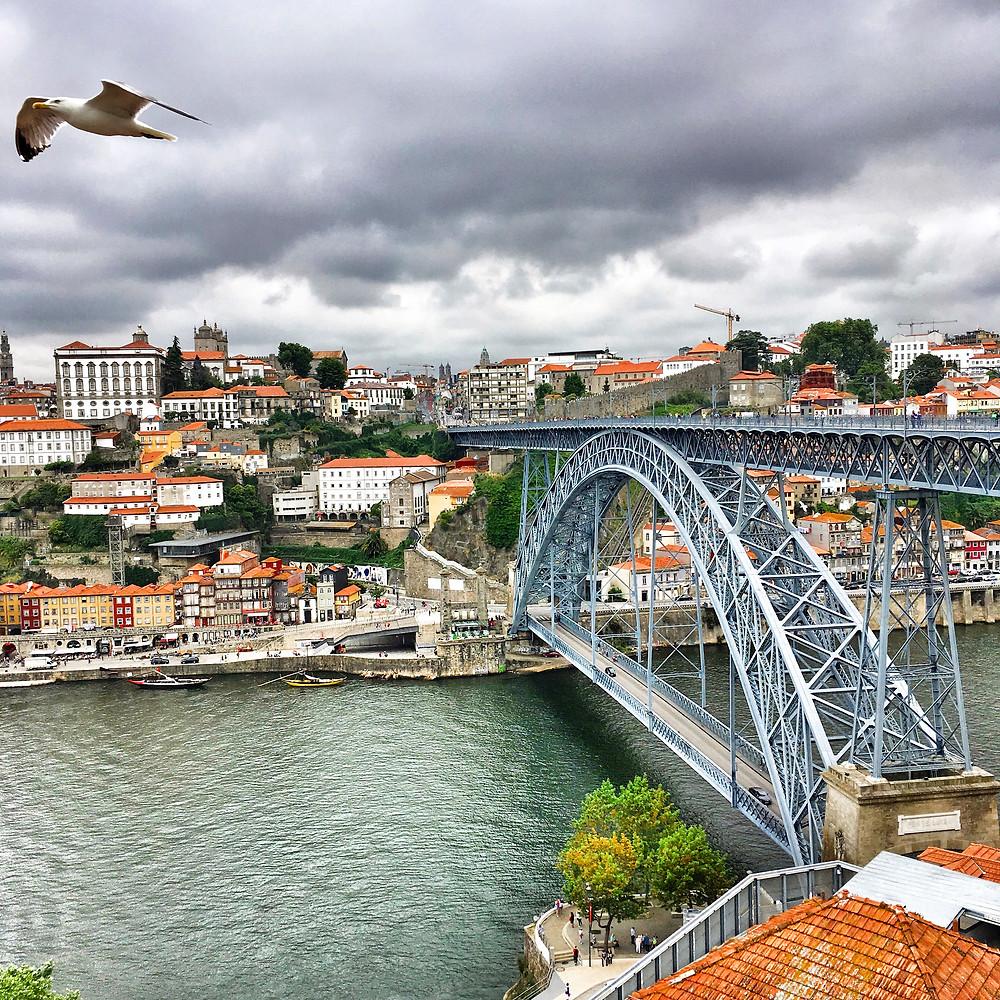 Dom Luís I Bridge in Porto
