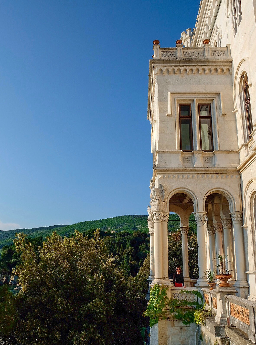 Lonnies Planet at Miramare Castle Trieste