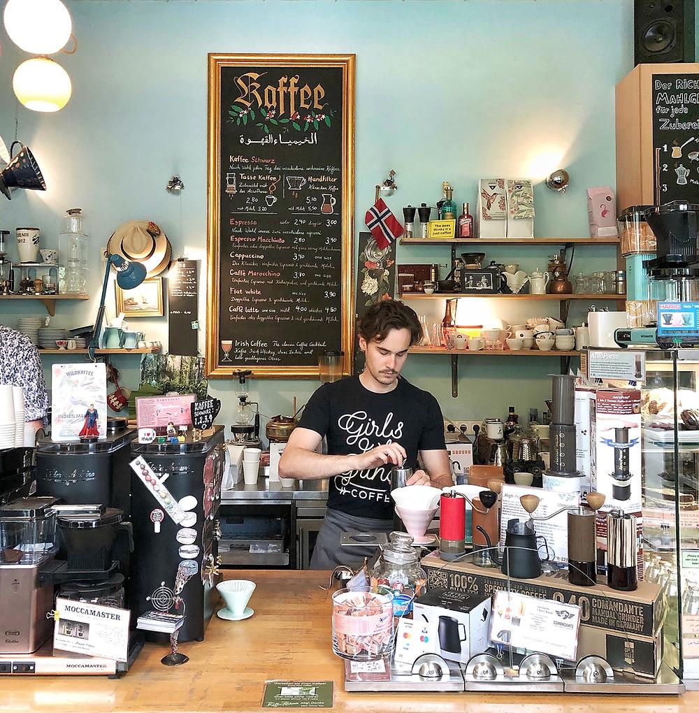 Kaffee Alchemie in Salzburg