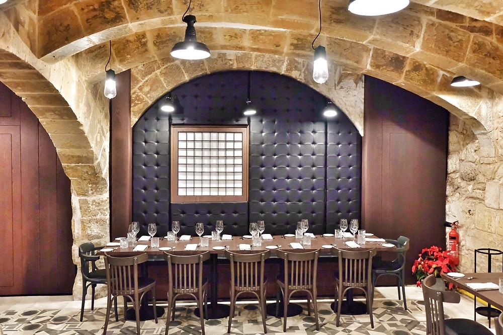 Restaurant Noni in Valletta Malta
