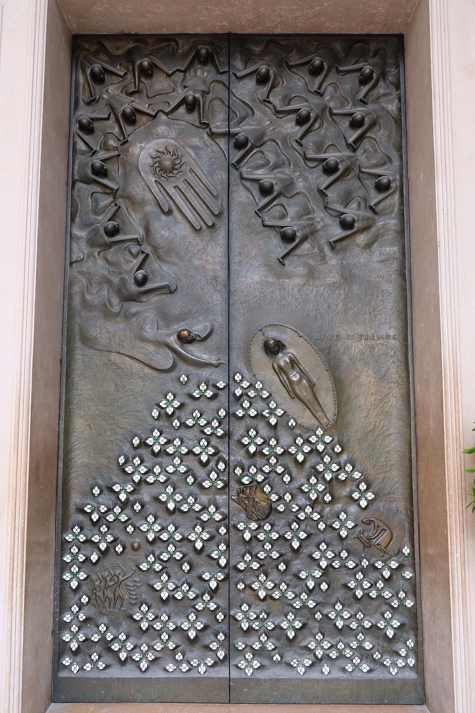 Door at Cathedral Salzburg