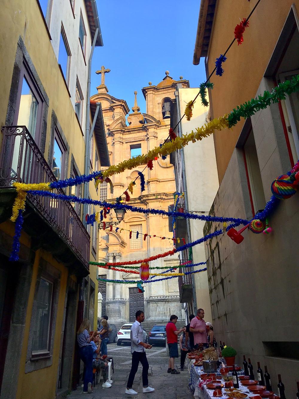 Festa São João in Porto Portugal