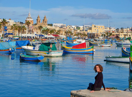 Malta: the land of knights, balconies and panoramic views