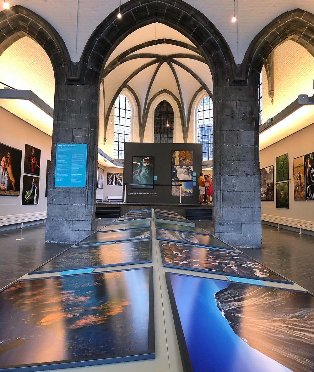 Exhibition Yann Arthus-Bertrand, Salle Saint George, Mons Belgium