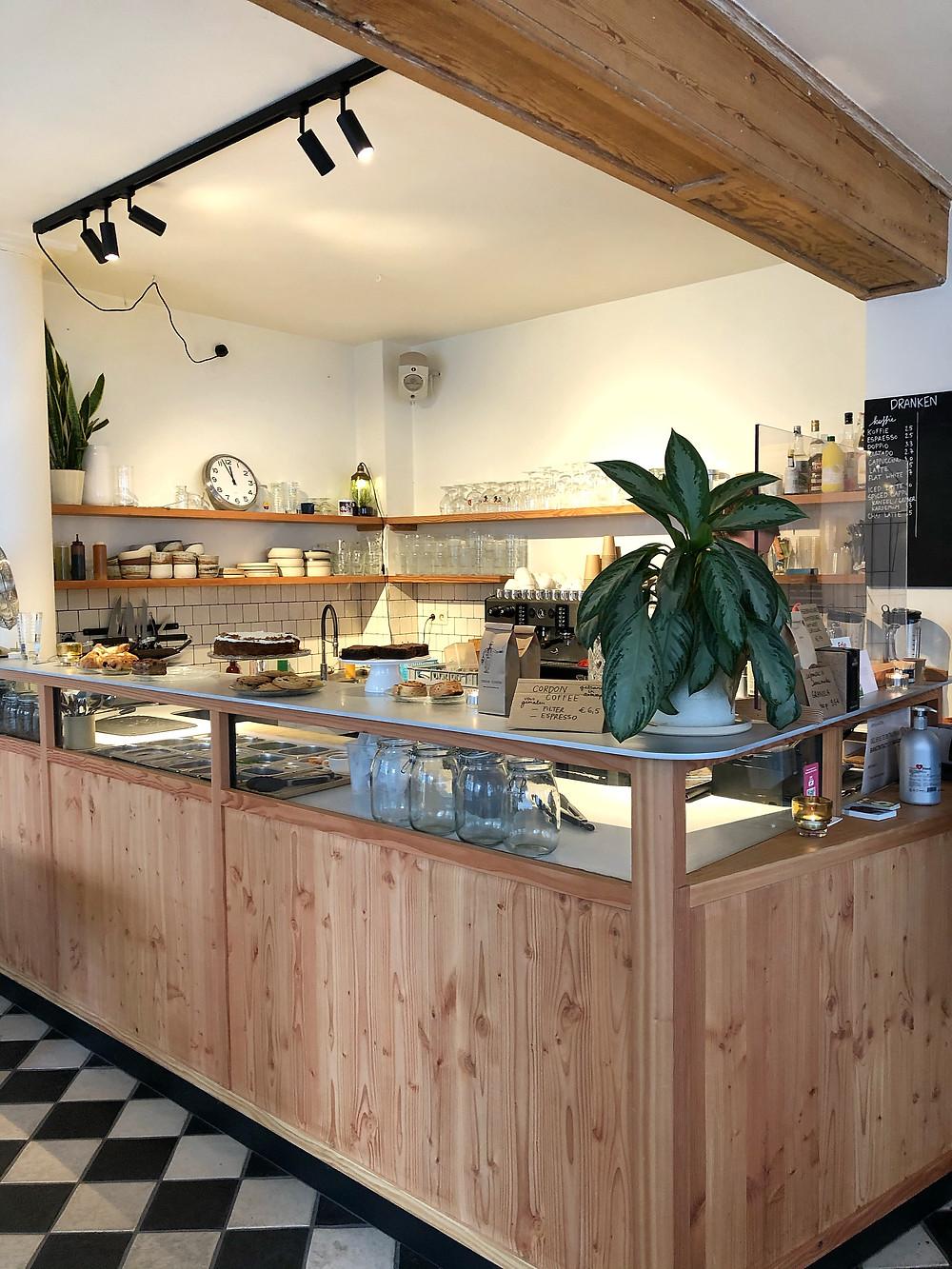 Cafématic interior Antwerp
