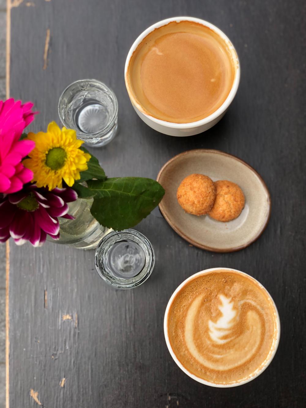 Coffee at Pura Vida West-Terschelling