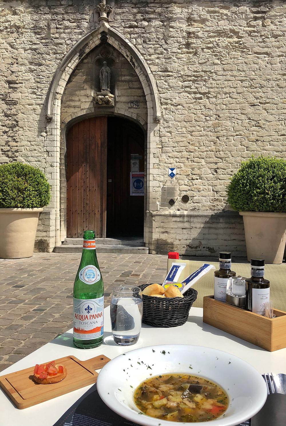 Lunch at Trattoria A Casa Mia in Lier