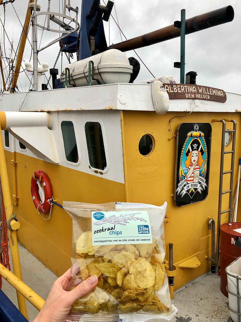 Chips met zeekraal Terschelling