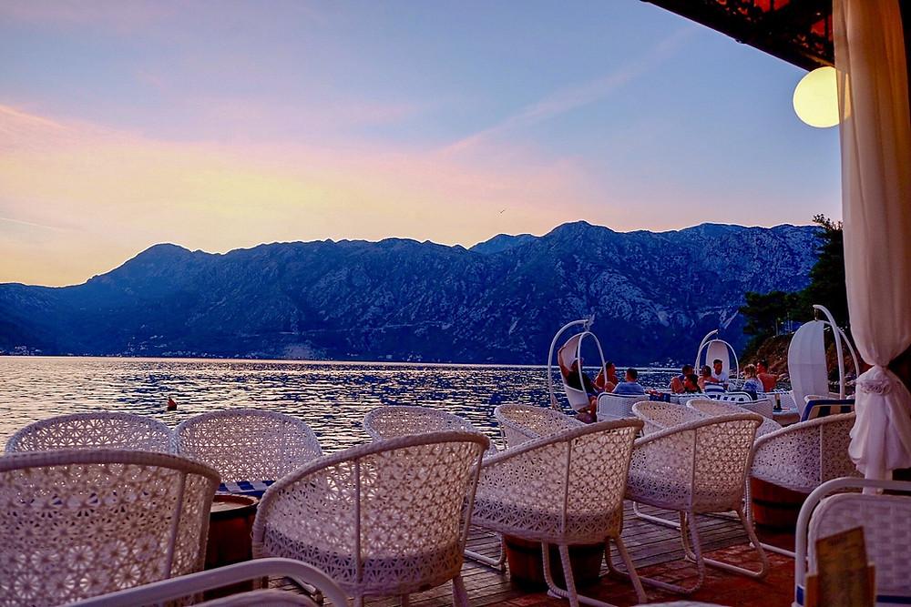 Beach Bar Pirates in Perast Montenegro