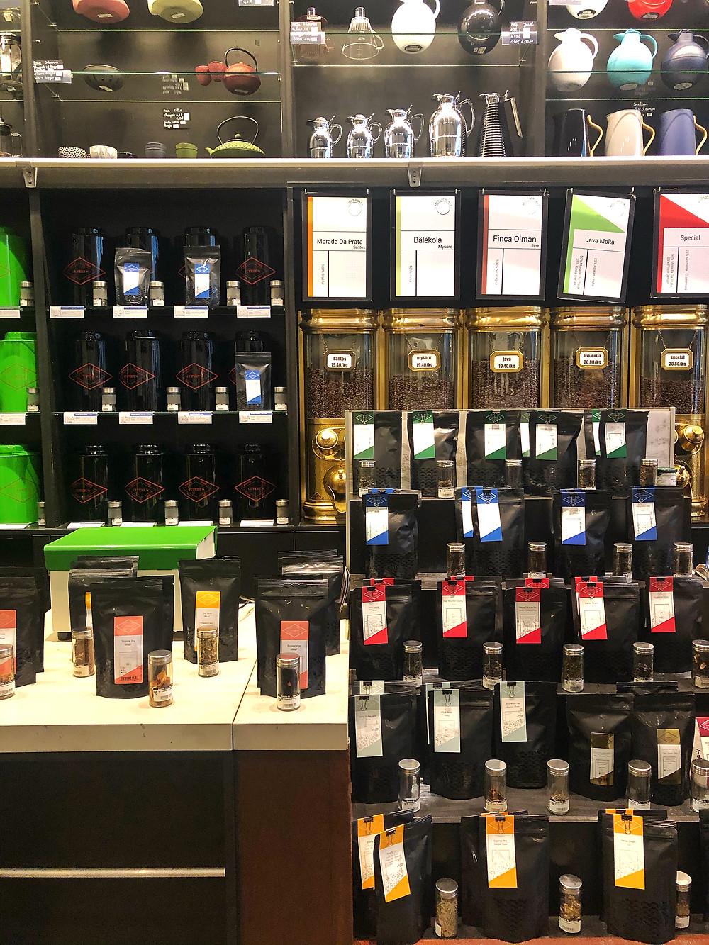 Cuperus coffee and tea shop Antwerp